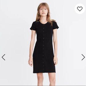 Black button down Madewell Dress